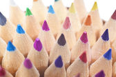 Close-up de lápis de cor — Foto Stock