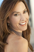 Beautiful Smiling Woman In Her Thirties — Stock Photo