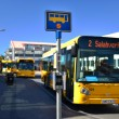 Bus stopping in Iceland — Stock Photo #12280416
