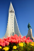 The Hallgrímskirkja — Stock Photo