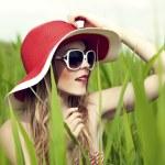 Summer fun girl — Stock Photo