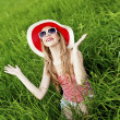 Summer fun girl — Stock Photo