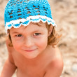 Little girl on the beach — Stock Photo #11397143