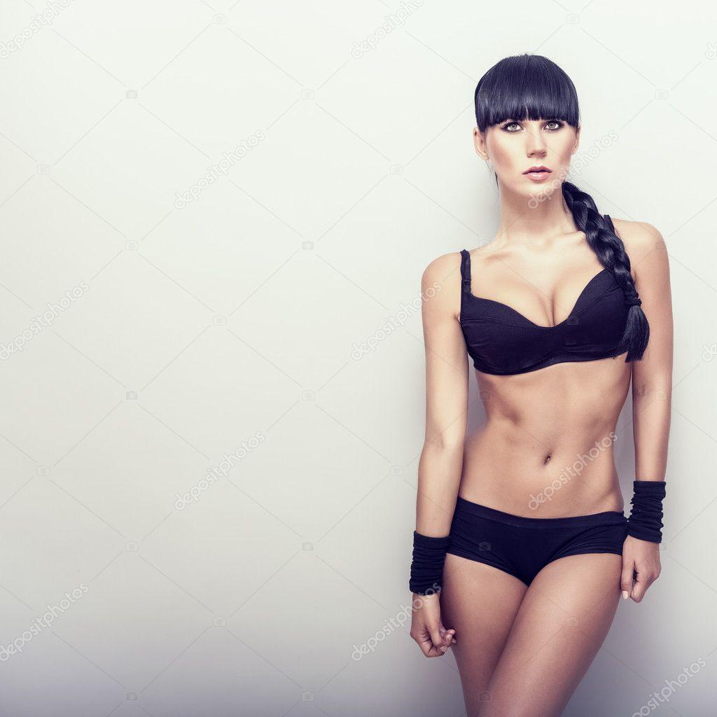 Depositphotos  Beautiful Fitness Girl