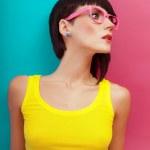 Summer fashion girl portrait — Stock Photo #12000499