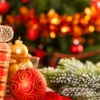 Christmas decorations — Stock Photo #11888853