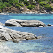 Panoramic view of Sardinia coast — Stock Photo #11382801