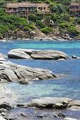 Panoramic view of Sardinia coast — Stock Photo