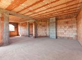 Nový interiér stavby — Stock fotografie