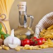 Preparing pasta with specific ingredients — Stock Photo
