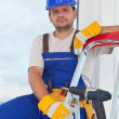 Worker on well deserved break — Stock Photo #11682005