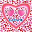 Royalty-Free Stock Vector Image: Two Hearts in Love