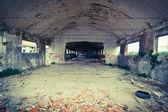 área abandonada — Fotografia Stock