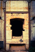 Abandoned boiler — Stock Photo