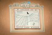Ancient sundial — Stock Photo