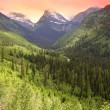 Stock Photo: Glacier national park