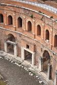 Trajan Forum in Rome — Stock Photo