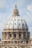Saint Peter cathedral dome — Stock Photo