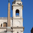 Stock Photo: Obelisk of Trinita' dei Monti in Rome