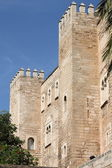 Almudaina Palace in Palma de Mallorca — Stock Photo