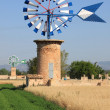 Mallorca windmill — Stock Photo