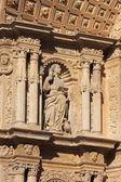 Basreliefs in Palma de Mallorca cathedral — Stock Photo