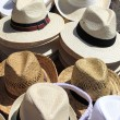 Panama hats - Foto de Stock