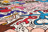 Infiorata of Genzano — Stock Photo
