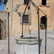 Medieval water well - Stock Photo