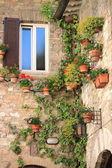 Medieval corner in Assisi — Stock Photo