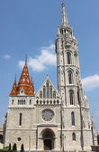 Matthiaskirche in budapest — Stockfoto