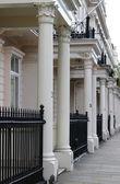 ロンドンの townshouses — ストック写真