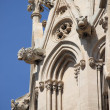 Gargoyles of Palma de Mallorca cathedral - Stock Photo