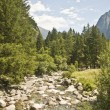 Stock Photo: Trekking in Val Masino