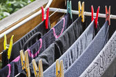 Drying rack — Stock Photo