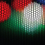 Plastic Hexagon Mosaic — Stock Vector