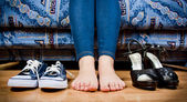 Set of shoes — Stock Photo