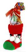 Calcetín de navidad — Foto de Stock