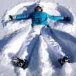 Royalty-Free Stock Photo: Snow Angel