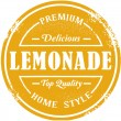 Vintage Style Lemonade Stamp - Stock Vector