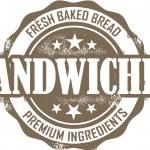 ������, ������: Deli Sandwich Stamp