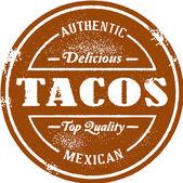 Tacos mexicains authentiques — Vecteur