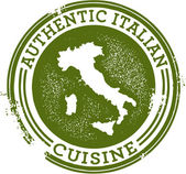 Authentic Italian Food — Wektor stockowy