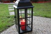 Lantern in the garden — Stock Photo