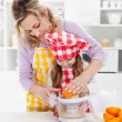 Educating children for a healthy diet and life — Stock Photo #10984864