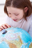 Learning about the world — Stock Photo