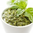Basil Pesto - Stock Photo