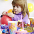 Childrens birthday — Stock Photo