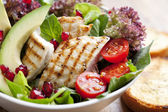 Hähnchen-salat — Stockfoto
