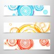 Royalty-Free Stock Vector Image: Set of colorful banners.
